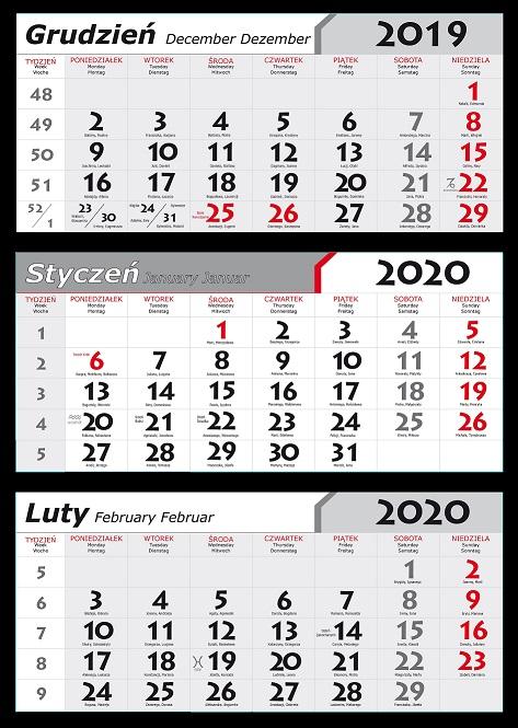 Kalendaria 2020