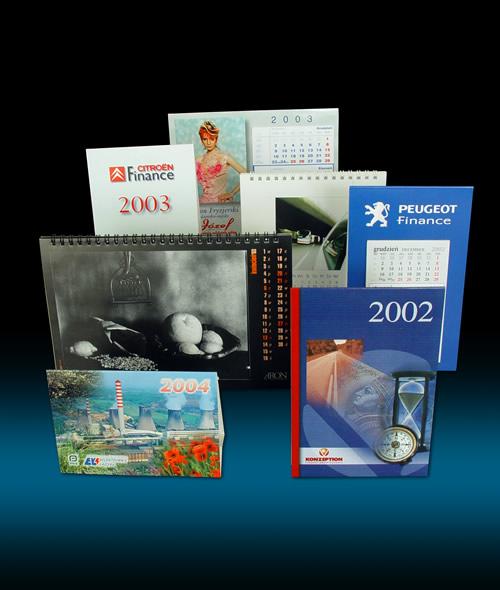 kalendarze biurkowe drukarnia