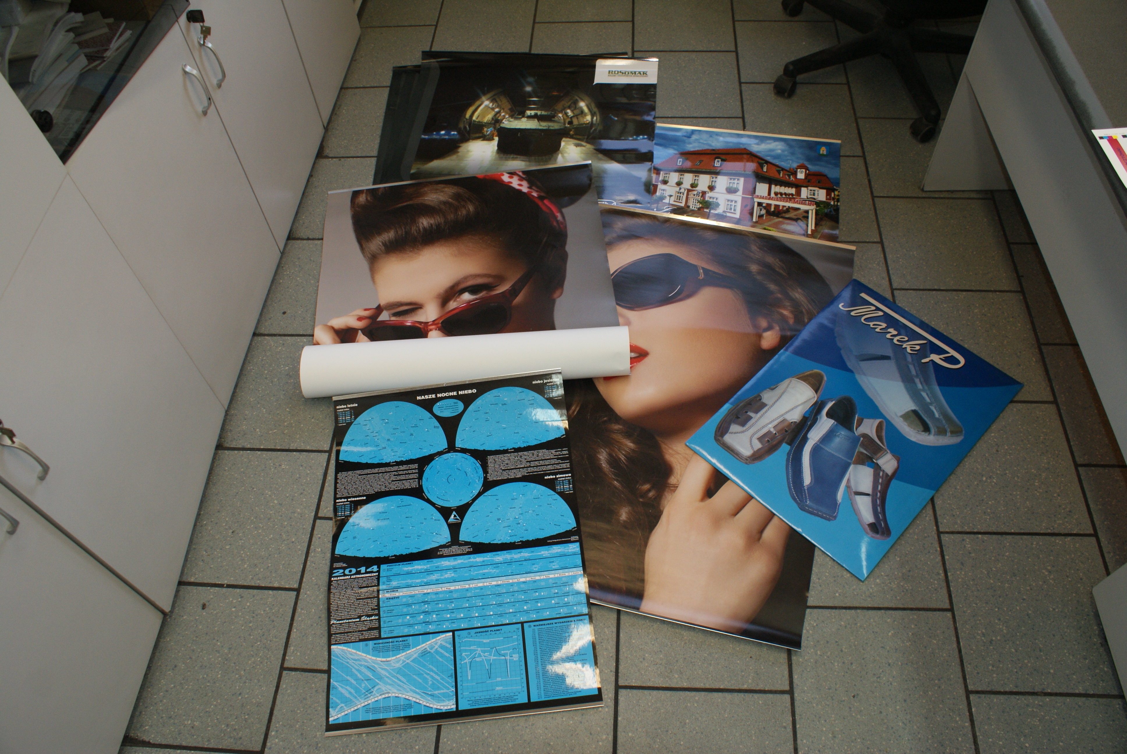 plakaty firmowe wydruk