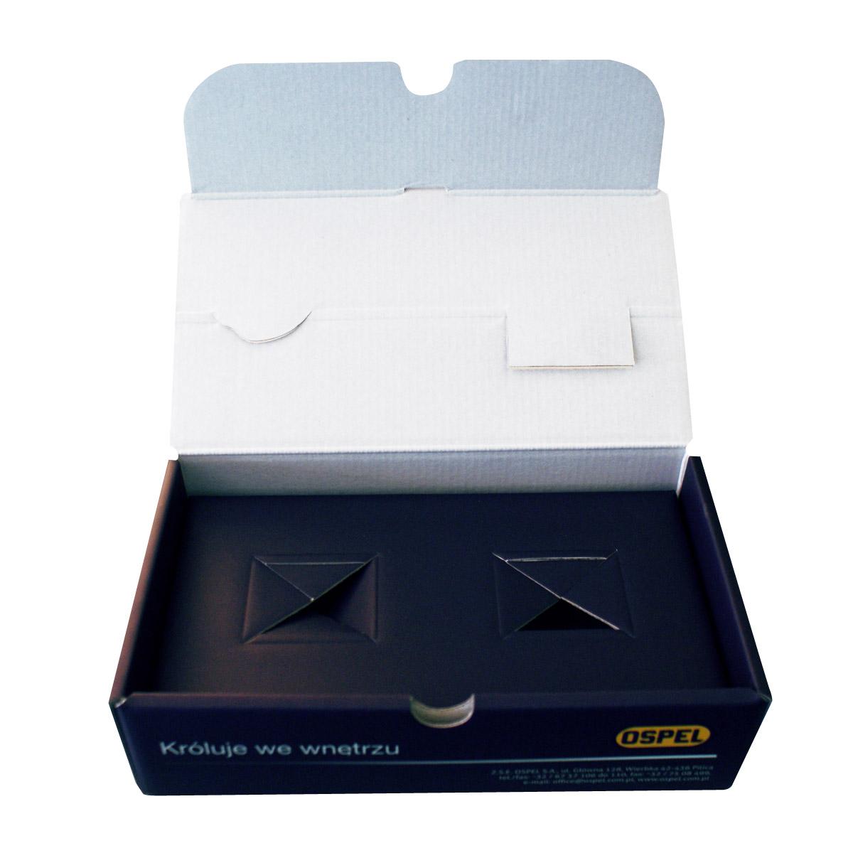wydruk pudełek firmowych
