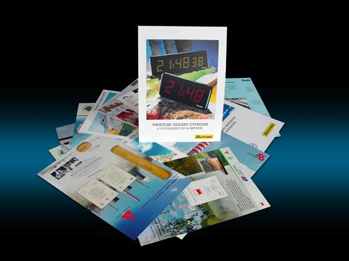 karty katalogowe drukarnia