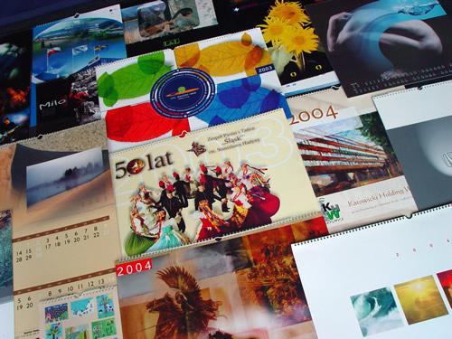 wydruk kalendarzy wieloplanszowych