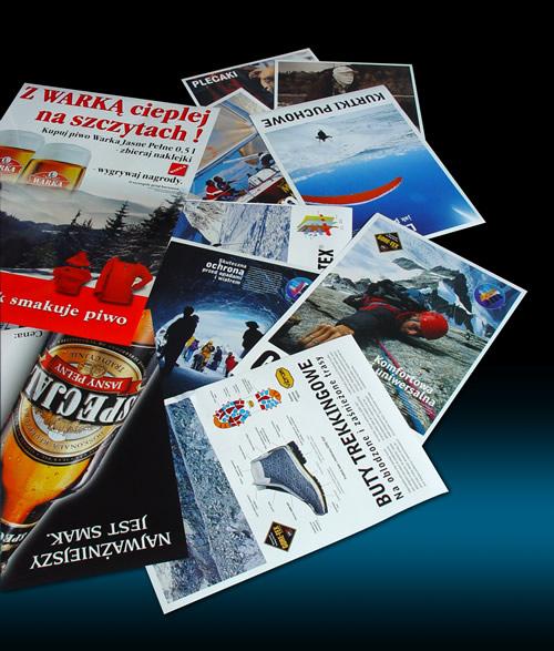wydruk plakatów