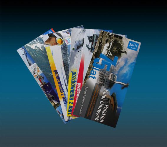 pocztówki firmowe drukarnia